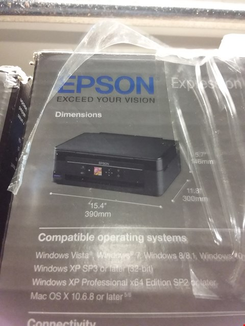 Lot 1252 EPSON XP-342 WIFI PRINTER