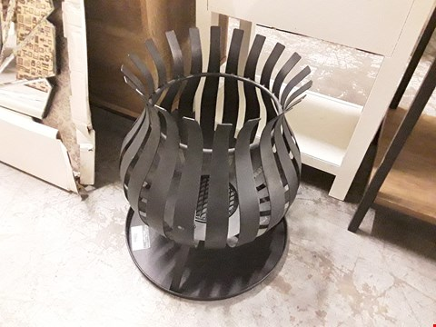 Lot 7066 DESIGNER BLACK FIRE PIT PARTS