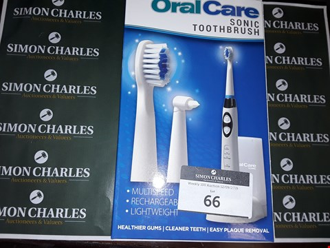 Lot 66 ORAL CARE SONIC TOOTHBRUSH
