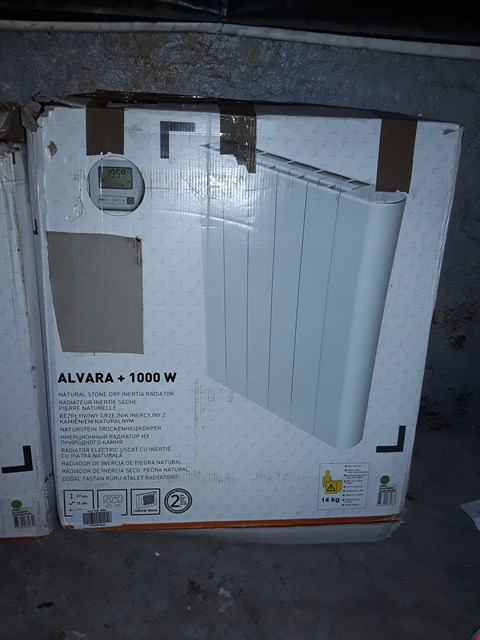 Lot 580 ALVARA + 1000W NATURAL STONE DRY INERTIA RADIATOR