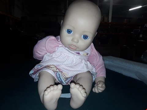 Lot 7035 BABY ANNABELL MY SPECIAL DAY ONE DOLL RRP £77