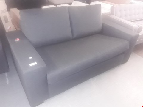 Lot 33 DESIGNER GREY FABRIC METAL ACTION SOFA BED RRP £519.99