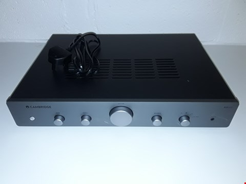 Lot 10 CAMBRIDGE AUDIO AX A25 INTEGRATED AMPLIFIER