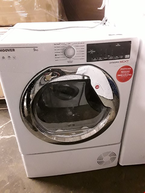 Lot 10046 HOOVER 9KG DYNAMIC NEXT TUMBLE DRYER