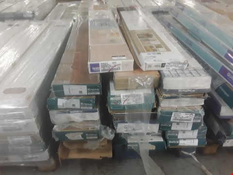 Lot 106 PALLET OF APPROXIMATELY 20 PACKS OF LAMINATE FLOORING