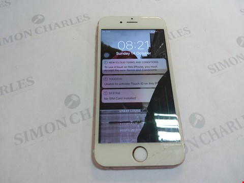 Lot 13 APPLE IPHONE 6S 16GB MOBILE PHONE