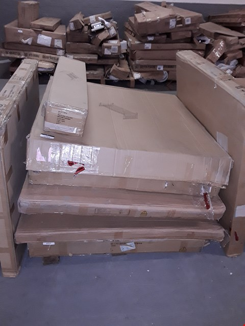 Lot 12089 PALLET OF ASSORTED BED FRAME PARTS