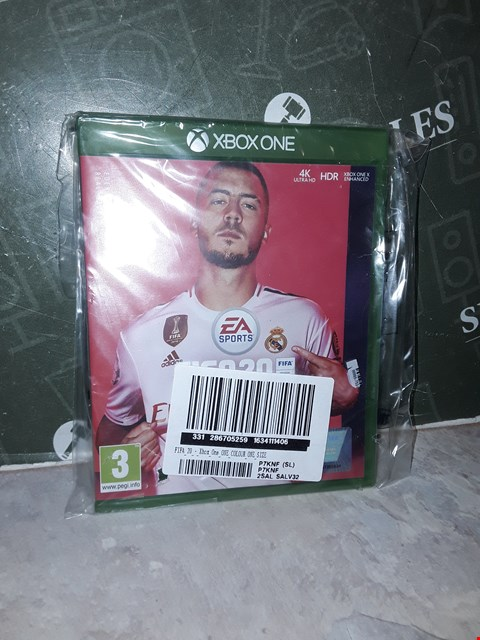 Lot 14468 FIFA 20 FOR XBOX ONE RRP £64.99