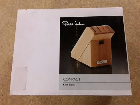 Lot 220 BOXED ROBERT WELCH COMPACT KNIFE BLOCK