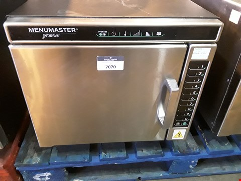Lot 7070 MENUMASTER JETWAVE HIGH SPEED COMBINATION MICROWAVE/OVEN