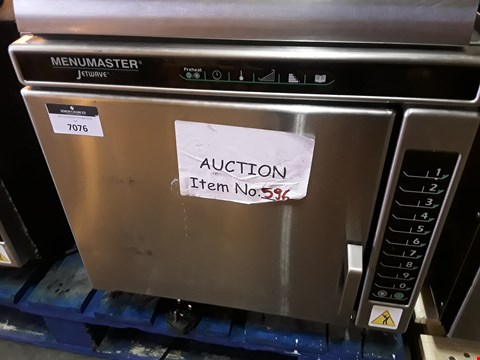 Lot 7076 MENUMASTER JETWAVE HIGH SPEED COMBINATION MICROWAVE/OVEN