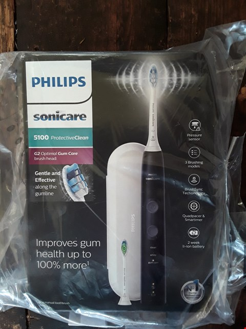 Lot 6644 BOXED GRADE 1 PHILLIPS SONICARE 5100 PROTECTIVE CLEAN ELECTRIC TOOTHBRUSH RRP £360