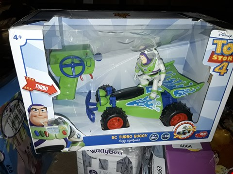Lot 4061 TOY STORY BUZZ LIGHTYEAR RC TURBO BUGGY