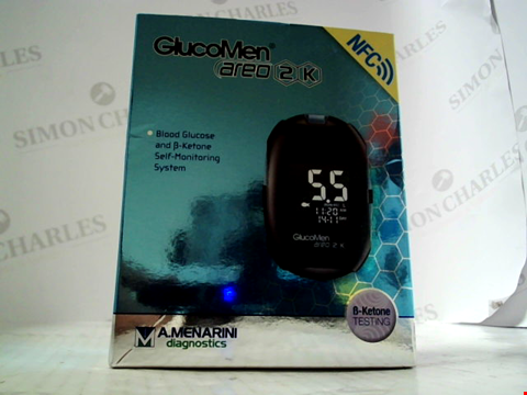 Lot 5997 GLUCOMEN AREO 2K BLOOD GLUCOSE MONITORING SYSTEM