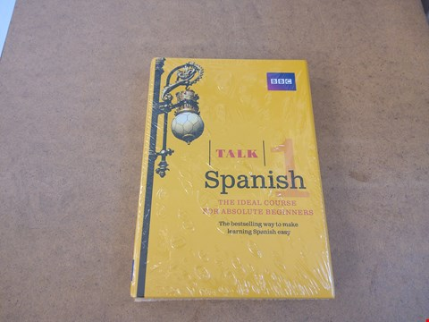 Lot 2538 BBC TALK SPANISH 1 THE IDEAL COURSE FOR BEGINNERS