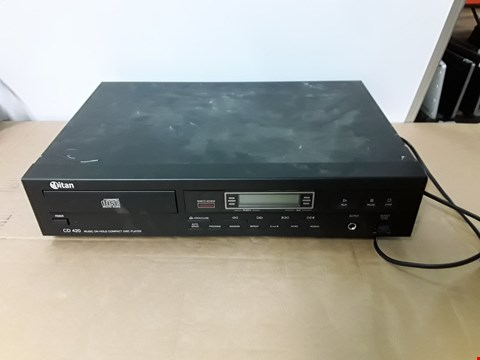 Lot 9948 TITAN CD 420 MUSIC ON HOLD COMPACT DISC PLAYER