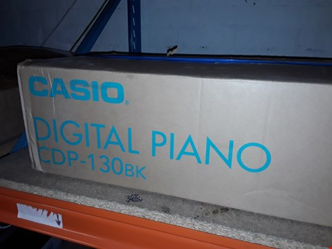 Lot 12460 CASIO DIGITAL PIANO CDP-130BK
