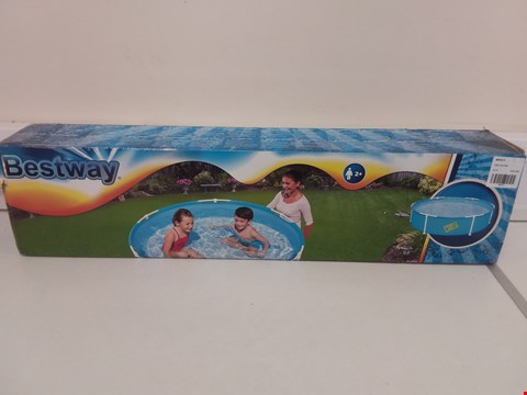 Lot 9086 BESTWAY MY FIRST FRAME POOL RRP £36.99