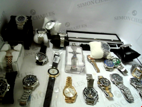 Lot 7133 LOT OF APPROXIMATELY 21 ASSORTED WRISTWATCHES