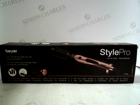 Lot 6021 BEURER BEAUTY STYLE PRO HOT AIR STYLER