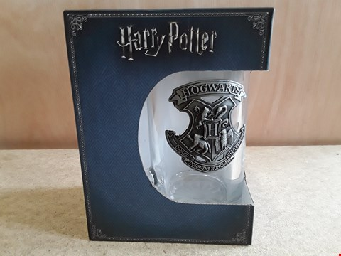 Lot 73 BRAND NEW BOXED HARRY POTTER GLASS TANKARD