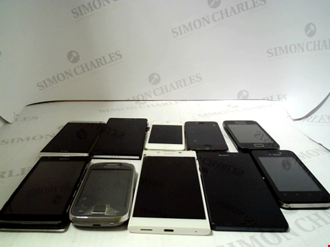 Lot 651 LOT OF APPROXIMATLEY 10 ASSORTED MOBILE PHONES AND SMARTPHONES ETC