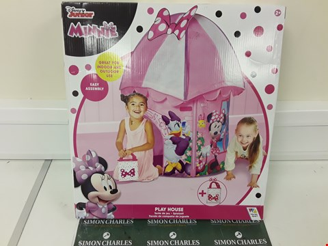 Lot 348 DISNEY MINNIE MOUSE PLAY HOUSE RRP £31.99