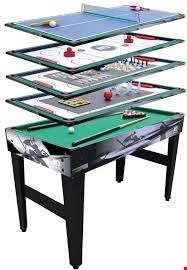 Lot 276 BOXED 4 IN 1 MULTI GAME TABLE