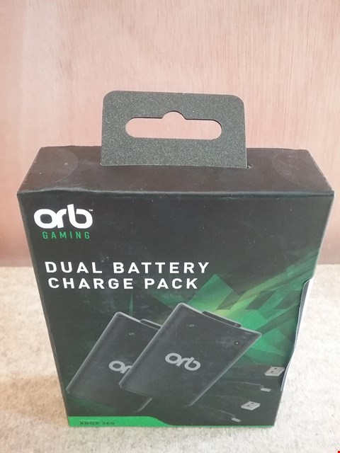 Lot 623 BRAND NEW BOXED ORB DUAL BATTERY CHARGE PACK