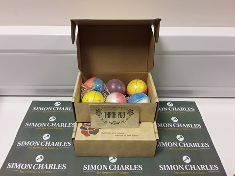 Lot 141 TWO BOXED SETS OF 6 BATH BOMBS