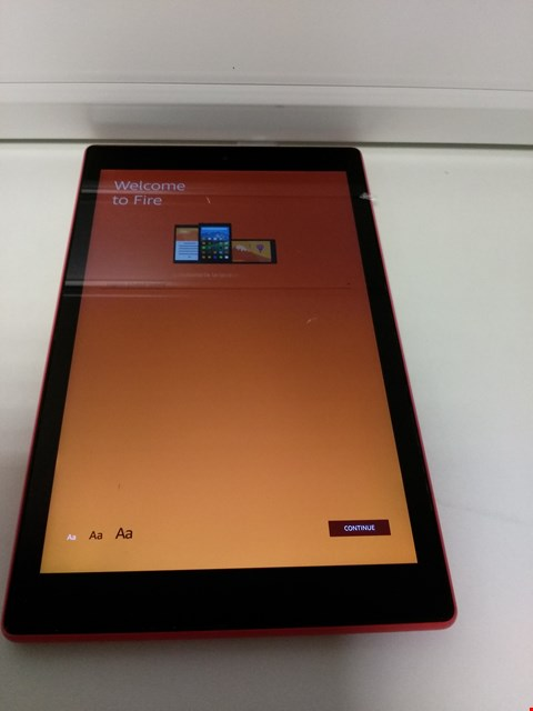 """Lot 2098 FIRE 7 """" TABLET WITH ALEXIA RED  RRP £74.99"""