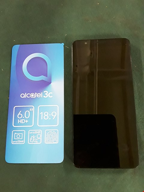 Lot 1062 BOXED ALCATEL 3C ANDROID 7 NOUGAT MOBILE PHONE