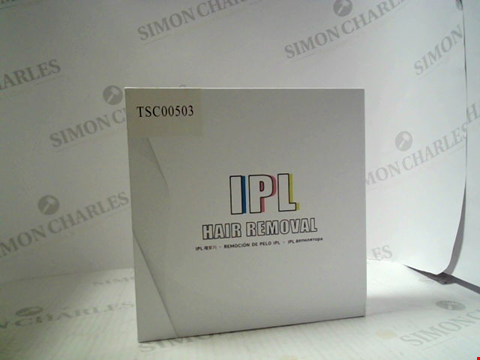 Lot 6017 BOXED IPL HAIR  REMOVAL DEVICE
