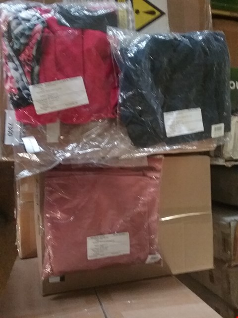 Lot 27 BOX OF APPROXIMATELY 18 ASSORTED CLOTHING ITEMS TO INCLUDE KASARA CREPE SPLIT, NICOLE FAUX SUEDE DUSTER COAT AND NICOLE 2 PACK CAMI TOPS