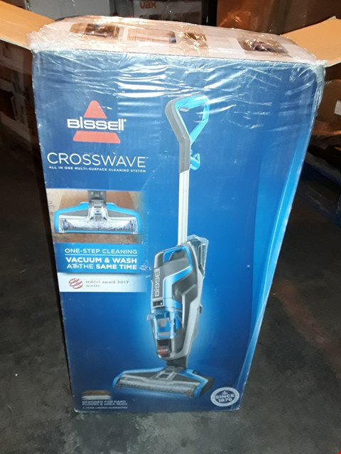 Lot 1030 BISSELL CROSSWAVE MULTI SURFACE CLEANING SYSTEM