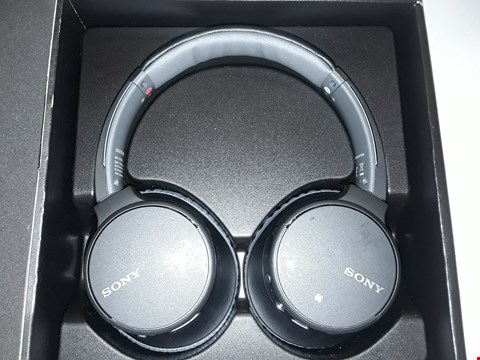 Lot 5086 SONY WIRELESS STEREO HEADSET - WH-CH700N