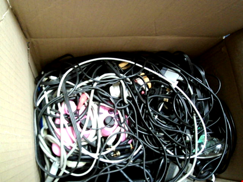 Lot 15664 BOX OF ASSORTED GAMES CONTROLLERS AND CABLES ETC