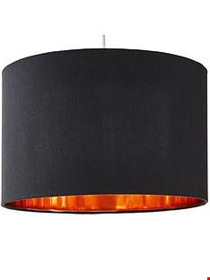 Lot 26 AVA EASY FIT GREY LAMP SHADE  RRP £19.99