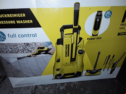 Lot 12549 KARCHER K4 FULL CONTROL PRESSURE WASHER