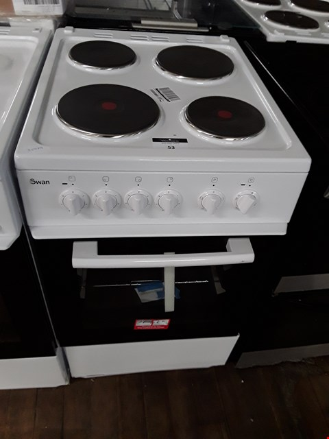 Lot 53 SWAN SX1011W WHITE 50CM ELECTRIC COOKER RRP £409.00