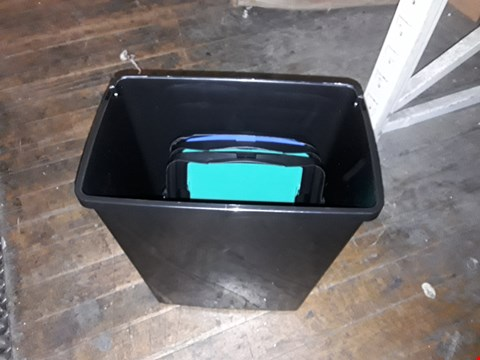 Lot 1155 3 PACK 40LTR RECYCLING UTILITY BIN SET