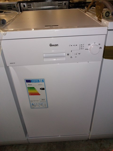 Lot 48 SWAN SDW2011W 10-PLACE SLIMLINE DISHWASHER - WHITE