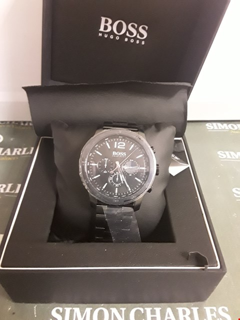 Lot 2353 HUGO BOSS BLACK PROFESSIONAL DIAL SMARTWATCH  RRP £400.00