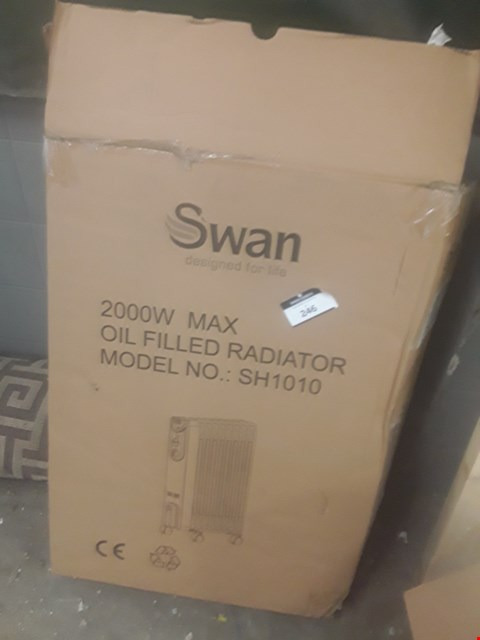 Lot 246 SWAN OIL FILLED RADIATOR
