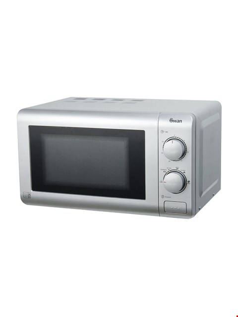 Lot 3234 BRAND NEW BOXED SWAN SM22090S ESSENTIAL 20-LITRE MICROWAVE (1 BOX - 76HQQ) RRP £44.99