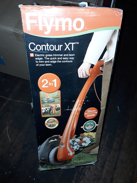 Lot 306 FLYMO CONTOUR XT TRIMMER AND EDGER  RRP £54.99