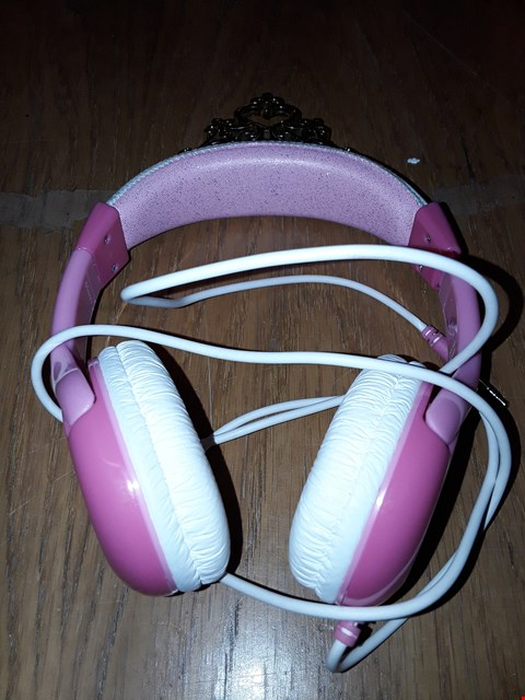 Lot 96 DISNEY PRINCESS MOLDED YOUTH HEADPHONES RRP £31.99