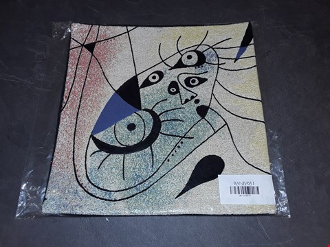Lot 8164 BRAND NEW 45X45CM  SUCCESSIO JOANMIRO ABSTRACT CUSHION COVER