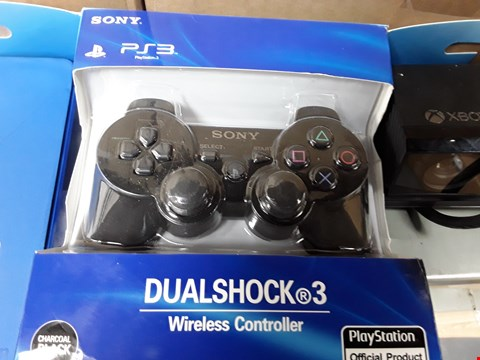 Lot 12064 SONY PLAYSTATION 3 WIRELESS CONTROLLER