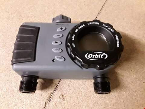 Lot 10316 ORBIT TWO PORT DIGITAL TAP TIMER